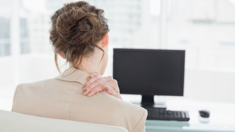 Pay attention to your posture and take frequent stretching breaks every 20 or 30 minutes.