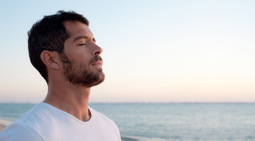 Yoga for beginners cool down and power up with ocean breathing
