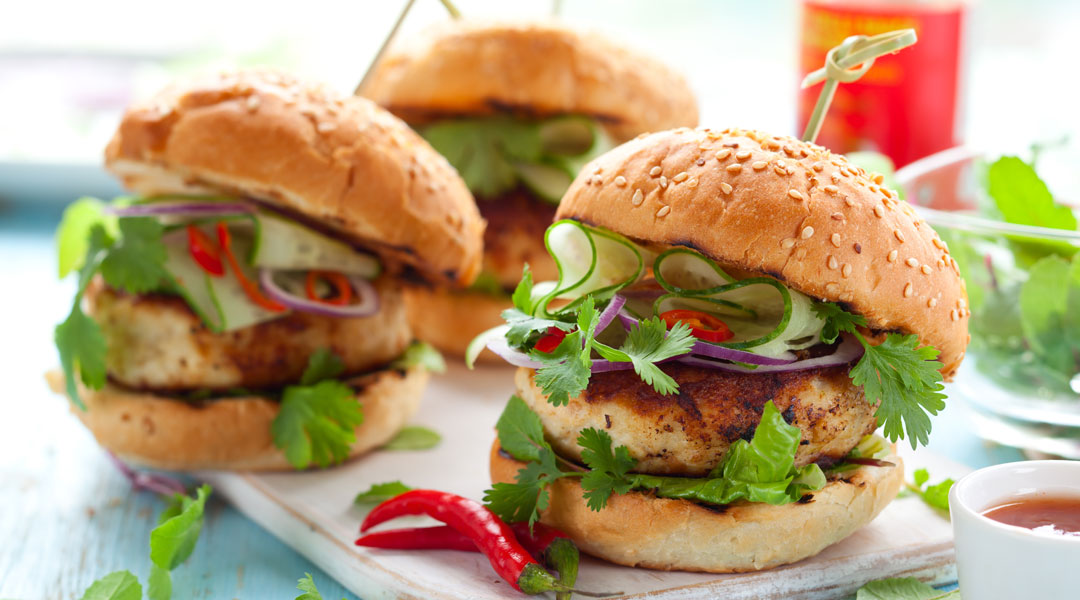 Buffalo-Turkey-Burgers-with-Avocado-Sauce_104755334