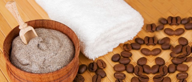Foot Scrub With Coffee -TEXT