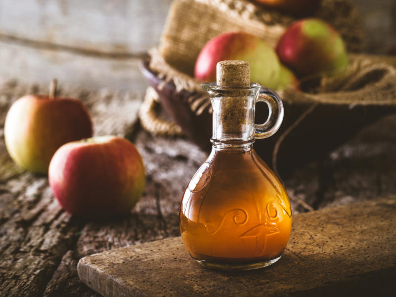 5 Natural Home Remedies For Nausea- Apple Cider Vinegar