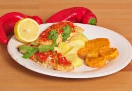 Salmon-and-Sweet-Potato-Cakes-with-Mango-Pineapple-Relish_220645639