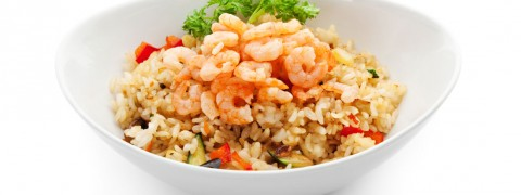 Shrimp-with-Spicy-Plum-Sauce-on-Brown-rice_55855102