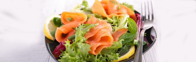 Super salmon salad weight loss