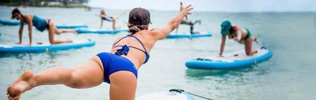 Paddleboarding-Yoga