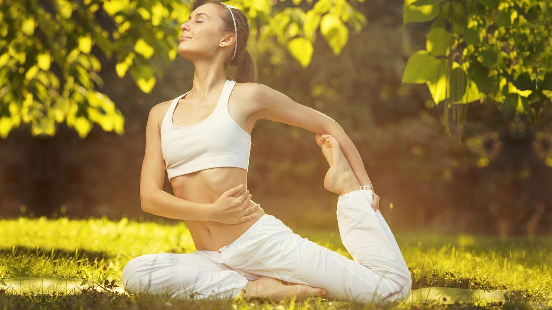 open air yoga benefits