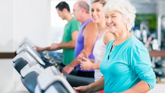 small bouts of exercise healthy for elderly people