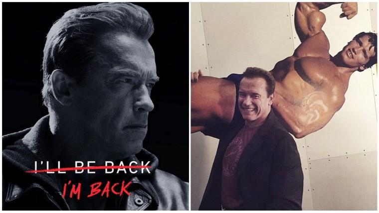The Terminator Arnold Schwarzenegger Full Body