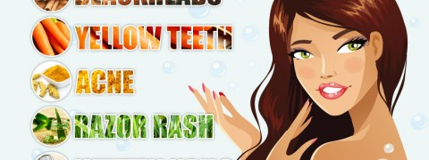 home remedies for blackheads pimples & yellow teeth