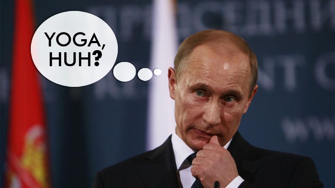 russian president vladimir putin yoga