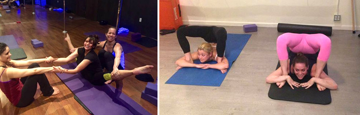 Think, Contortion training at home have removed