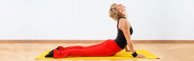 cobra-pose-quick yoga routine