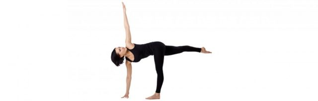 half-moon-pose-quick yoga-routine