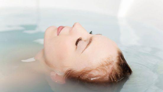 warm water bath