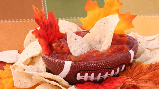 football salsa dip