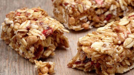 pre workout granola bar recipe