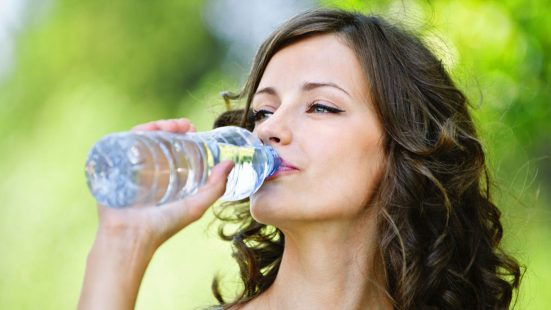 you are not drinking enough water