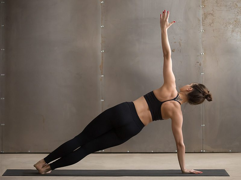 Yoga Poses: Side Plank Pose