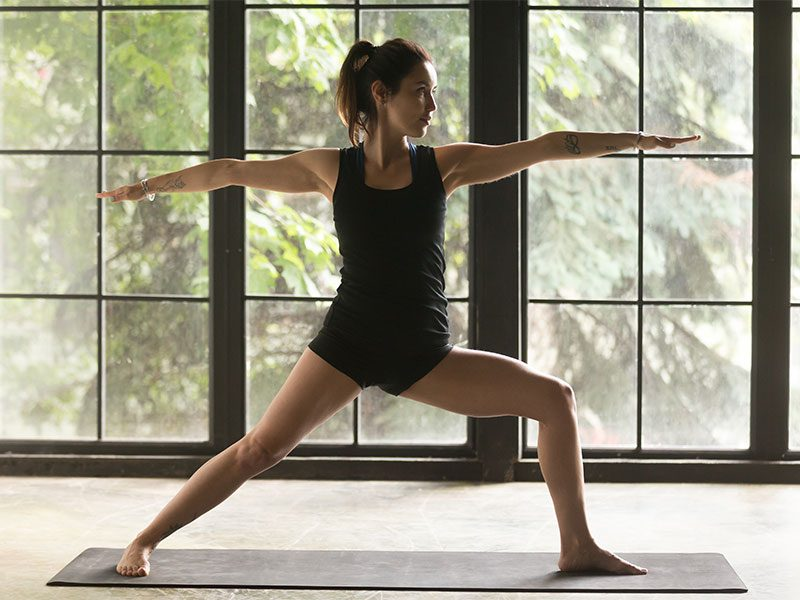 Yoga Poses: Warrior II Pose