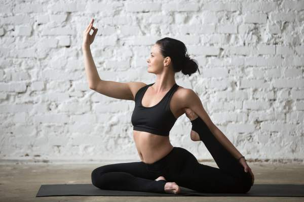 Follow-up Poses for Pigeon pose: One-Legged King Pigeon Pose