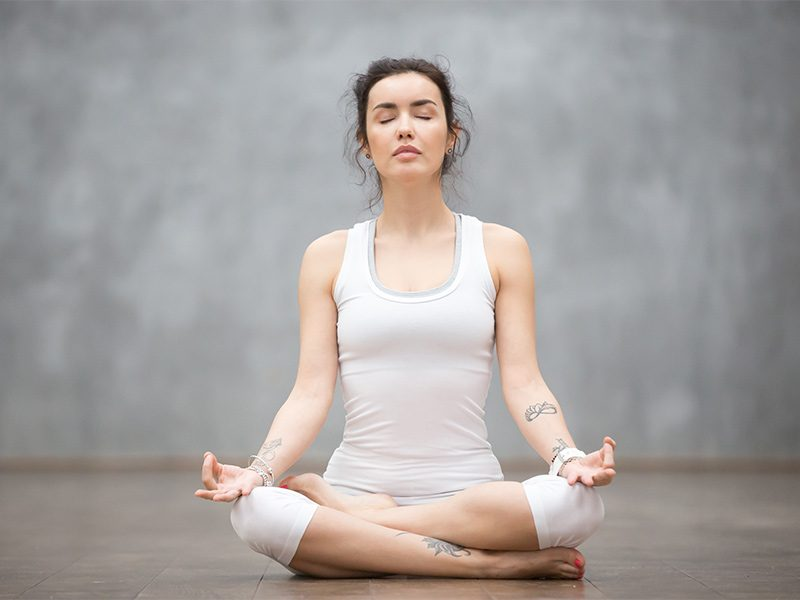 Lotus Pose for Meditation