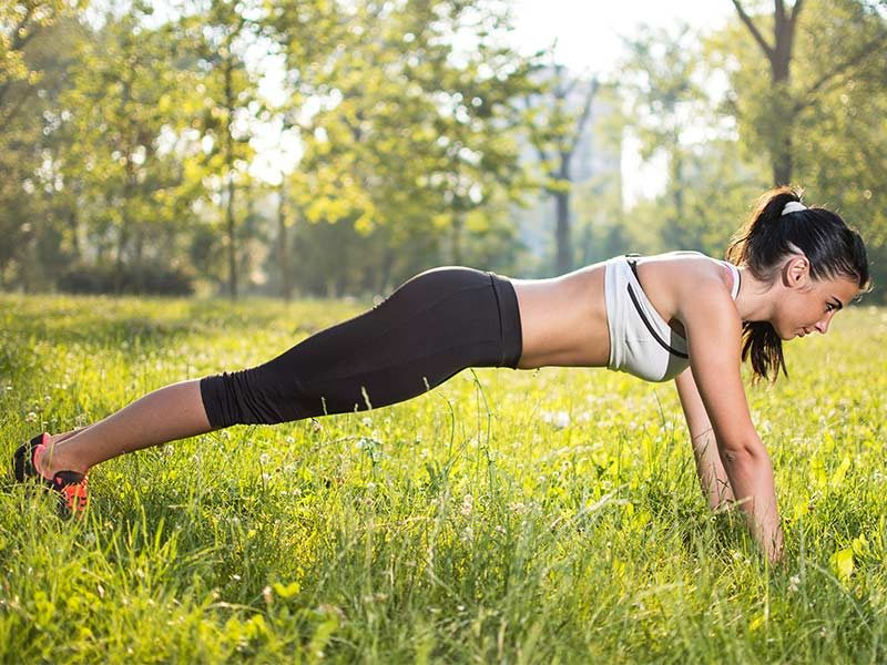 Yoga: Plank Pose for Back Pain Relief