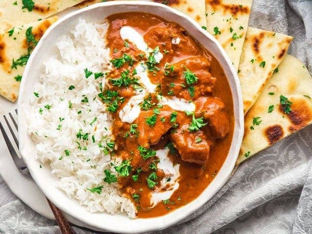 Instant Pot Chicken Recipes butter chicken