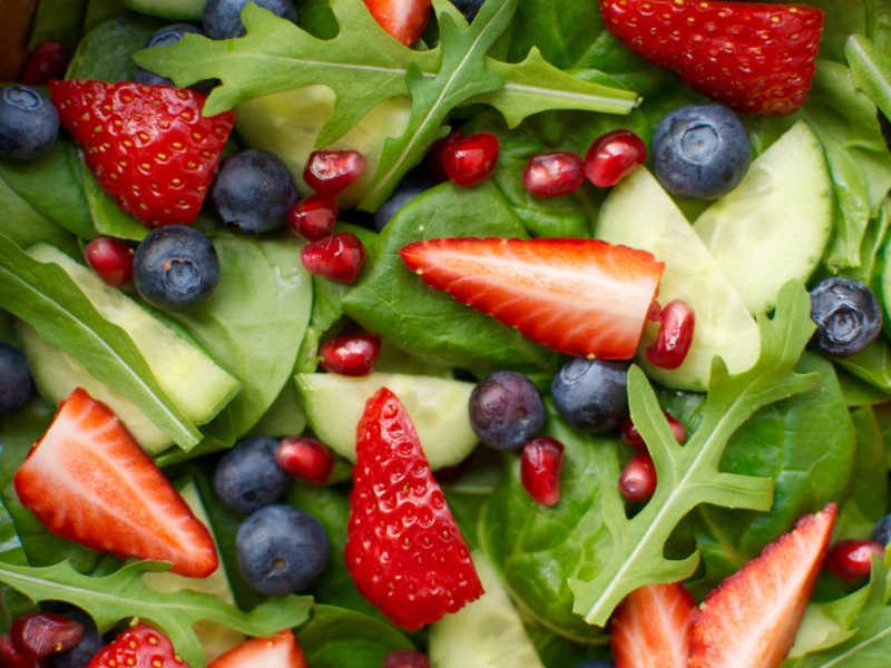 Create a Colorful Summer Salad
