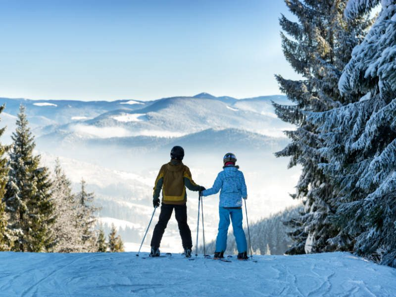Get Active With Downhill Skiing