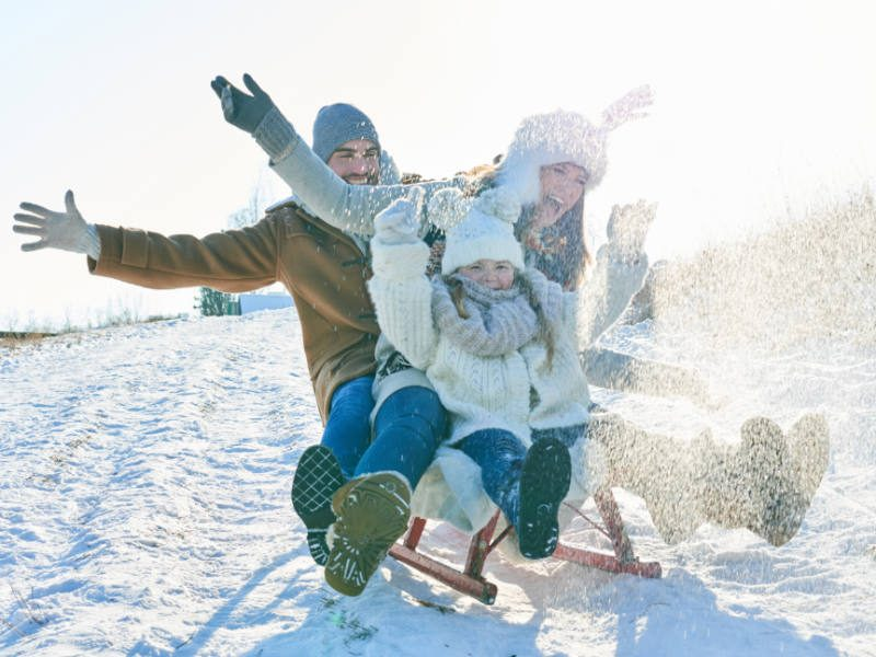 Get Active With Sledding