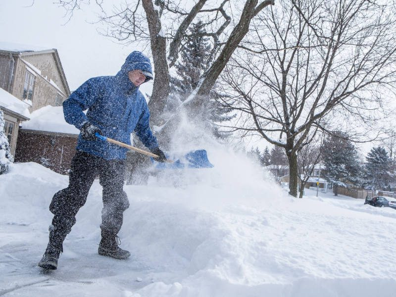 Get Active With Snow Shoveling