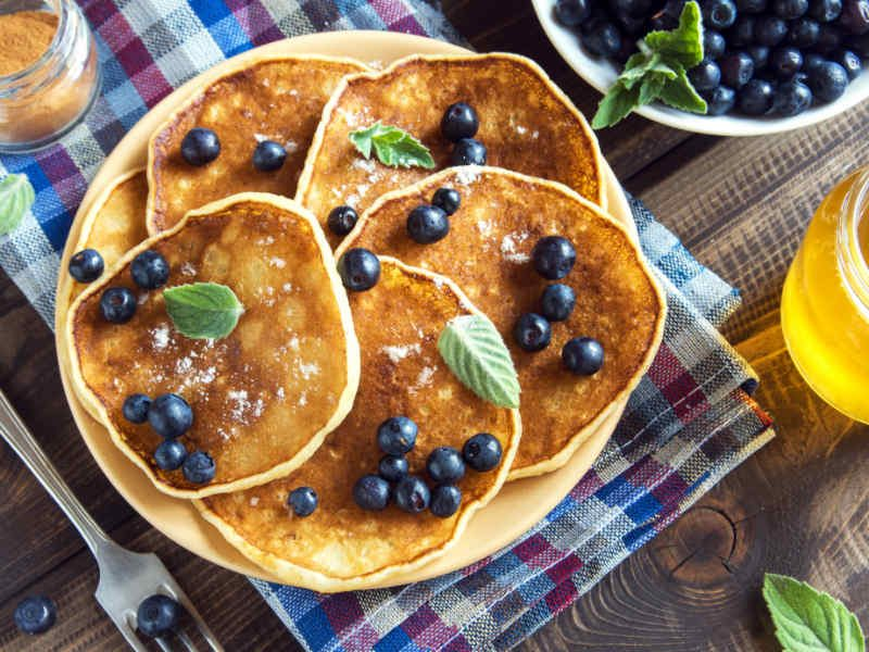 Whip Up a Batch of Blueberry Pancakes