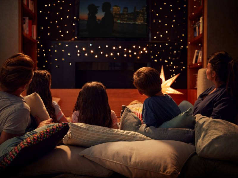 Winter Pastime: Make It a Movie Night