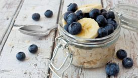 Overnight Oats Recipe with Fruit and Chia S