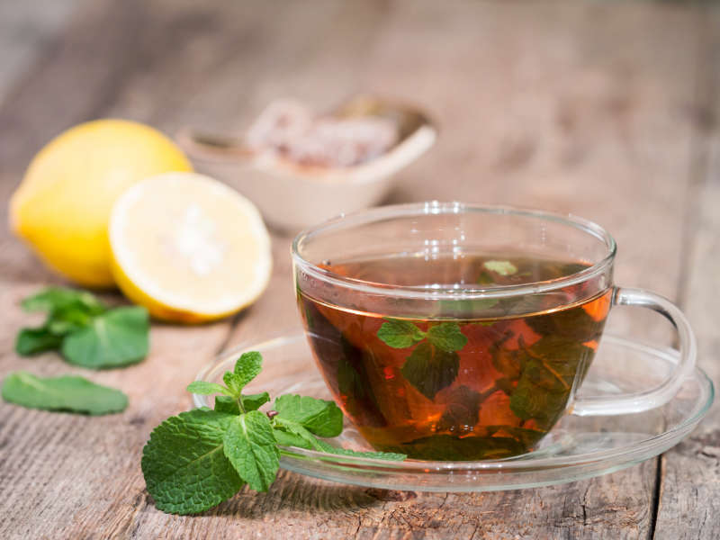 Natural Remedies for Cough cup of peppermint tea
