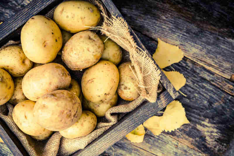 Potatoes for Skin