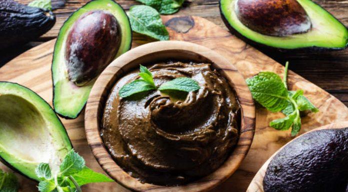 bowl of Avocado Chocolate Pudding