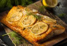 Baked Salmon Recipe with Lemon and Garlic