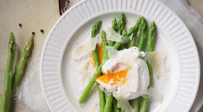 Poached Egg with Asparagus Recipe
