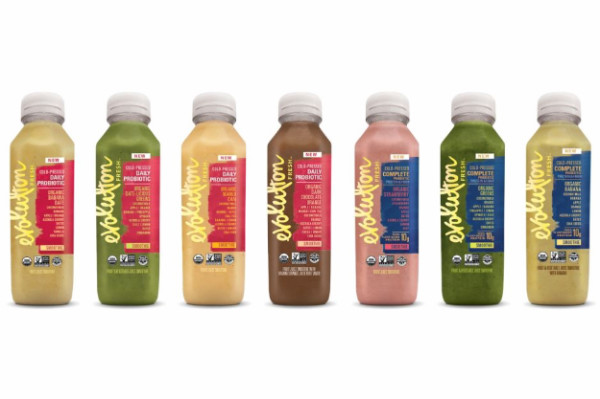 Evolution Fresh Probiotic Smoothies