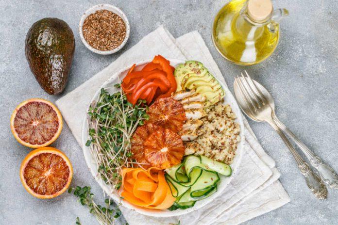 anti-inflammatory diet meal