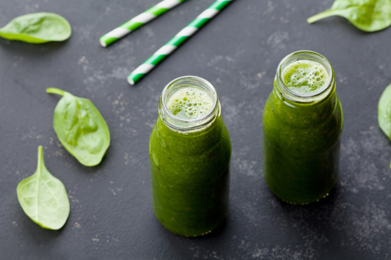 moringa green smoothie