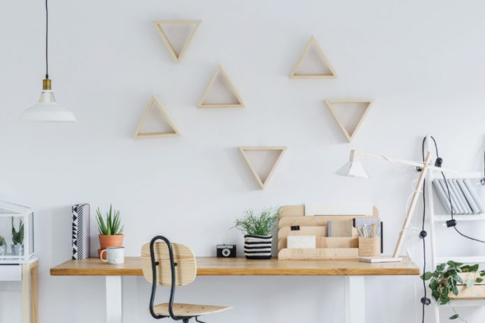natural workspace promoting wellness