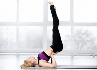 Supported Shoulder Stand to Promote Overall Strength