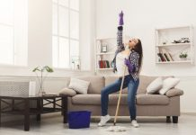 How to Turn Your Chores into a Workout