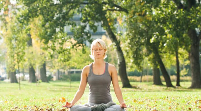 Half Lotus Pose   Improve Blood Circulation and Open Up The Hips