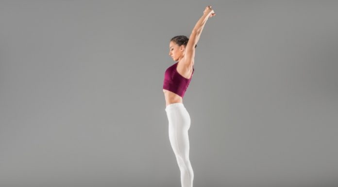 Palm Tree Pose   A Powerful Stretch to Detox and Stimulate Digestion