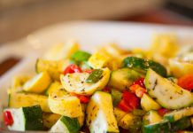 squash vegetable salad