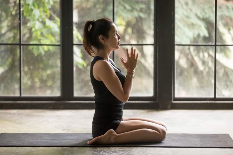 Yoga Poses: Hero Pose