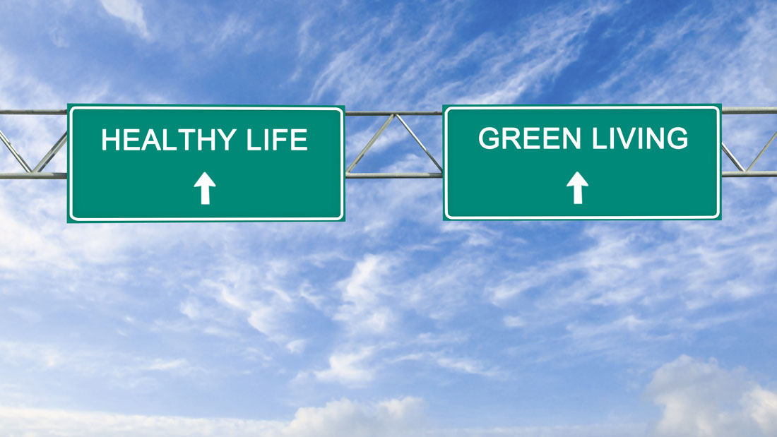 Road-sign-to-healthy-life-and-green-living_110815718